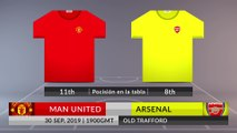 Match Preview: Man United vs Arsenal on 30/09/2019