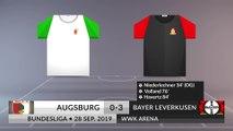 Match Review: Augsburg vs Bayer Leverkusen on 28/09/2019