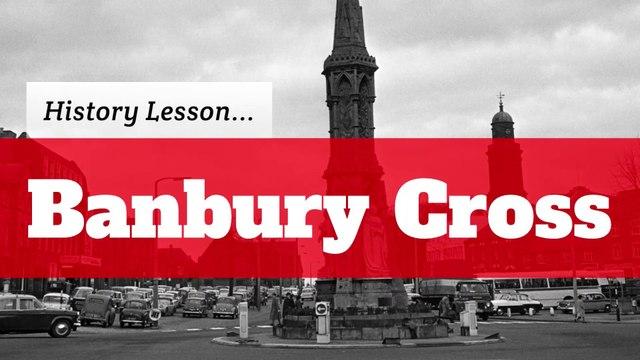 History of Banbury Cross