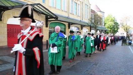Judges' ceremonial city centre procession