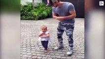 El tierno baile de Enrique Iglesias con su hija pequeña