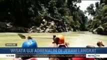 Pacu Adrenalin di Wisata Arung Jeram Langkat