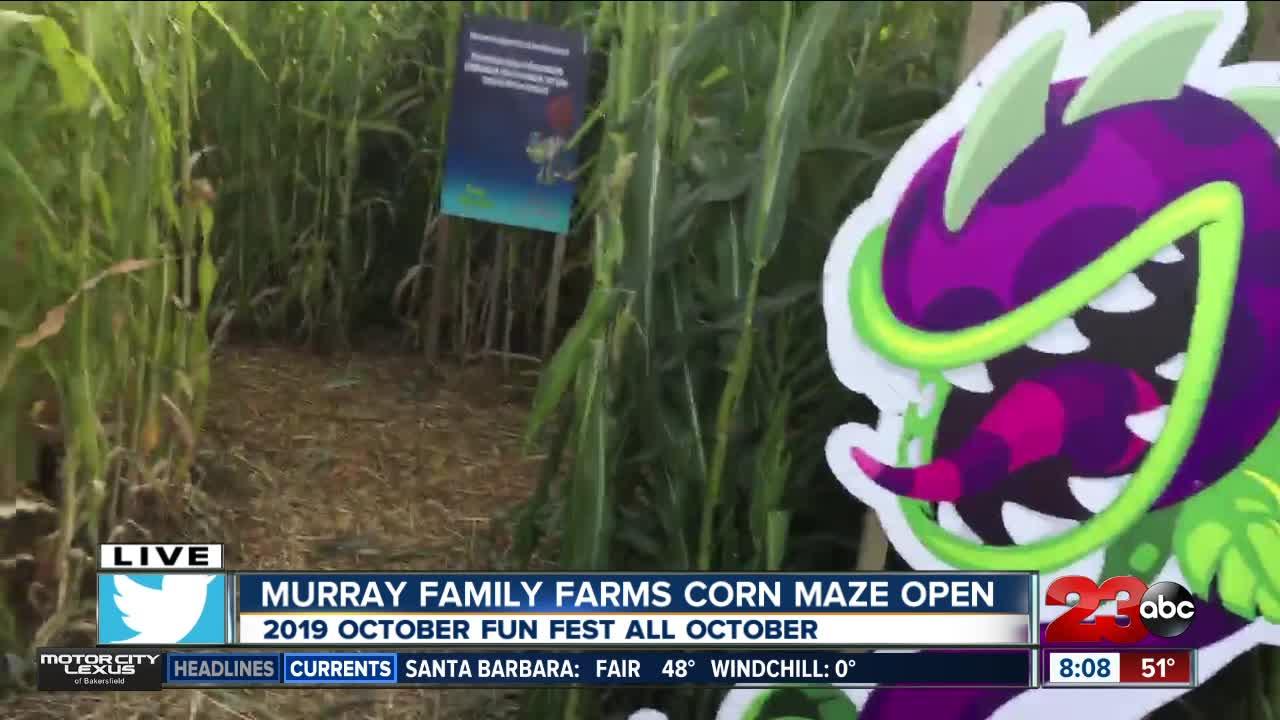 Murray Family Farms starts their October Fun Fest