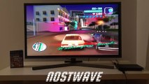 #nostalgia Grand Theft Auto Vice City gameplay on PlayStation 2 and modern 4K TV
