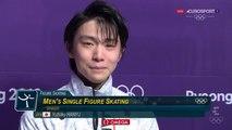 WOG18 - Yuzuru Hanyu - Green Room and Victory (ESP ITA) [ENG SUB]