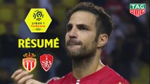 AS Monaco - Stade Brestois 29 (4-1)  - Résumé - (ASM-BREST) / 2019-20