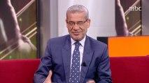 مصطفى الآغا يوجه كلمة مؤثر في نهاية حلقة فراس الخطيب بعد إعلانه إعتزال كرة القدم نهائيا