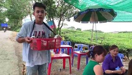 Thằng Cò- Vượt 200Km Đi Bán Chó Dạo - Thánh Bán Chó Đáng Yêu Tái Xuất Giang Hồ ^^