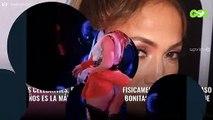 ¡Jennifer López lleva esparadrapo! (y mira ¡dónde!): el descuido y la foto bomba