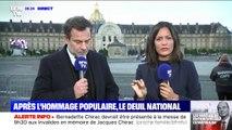 Bernadette Chirac devrait être présente à la messe de 9h30 aux Invalides en mémoire de son mari