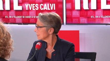 Elisabeth Borne - RTL lundi 30 septembre 2019
