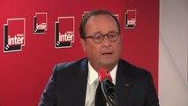 """François Hollande : """"L'outrance a été introduite dans le système médiatique : c'est pas drôle de faire débattre deux modérés, un de gauche, un de droite"""""""