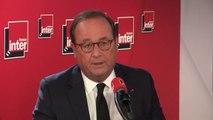 """François Hollande : """"Y'a pas de démocratie sans grande formation politique, sans pensée politique, sans idées politiques ; si on veut faire de la démocratie sans, c'est le vide, et dans le vide ce ne sont pas les démocrates qui gagnent"""""""