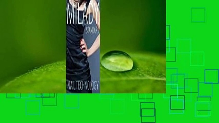 Online Milady Standard Nail Technology  For Kindle