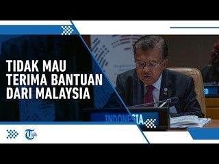 Jawaban Jusuf Kalla Ketika Dikritik Soal Penanganan Karhutla oleh Perdana Menteri Malaysia