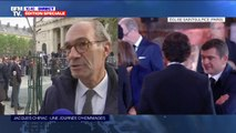 """""""C'est un roman politique du pays à lui tout seul."""": Eric Woerth, député LR de l'Oise, est présent à la cérémonie d'hommage à Jacques Chirac"""