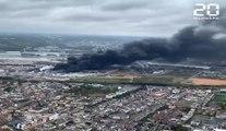 Incendie de l'usine Lubrizol à Rouen : Le feu est désormais éteint