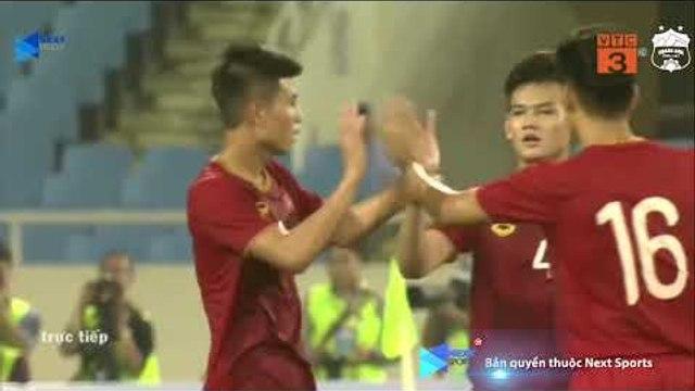 Bàn thắng đầu tiên của Thanh Bình trong một trận đấu chính thức cho U23 Việt Nam | NEXT SPORTS