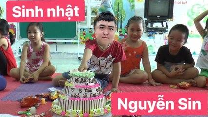 Sinh nhật Nguyễn Sin, nhiều khách mời đặc biệt hơn cả đặc biệt.