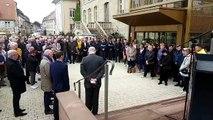 Sarrebourg plongée dans le silence en hommage à Jacques Chirac