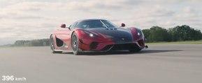 VÍDEO: Koenigsegg Regera, récord de 0-400km/h-0 en 31,49 segundos