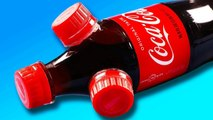 INSANE DIY Coca cola Coke Bottle Life Hacks