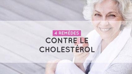 4 remèdes contre le cholestérol
