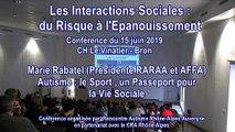 Autisme : le sport, un passeport pour la vie sociale : Marie Rabatel avec la participation de Mélina Robert-Michon