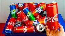 SHREDDING 100 COCA COLA CANS