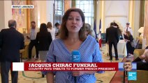 Lebanon pays tribute to Jacques Chirac