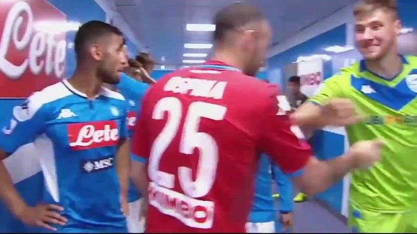 Napoli vs Brescia 2  -  1 Összefoglaló Highlights Melhores Momentos 28 09 2019 HD