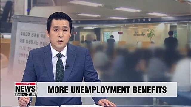 Gov't to increase unemployment benefits