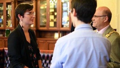 New Angers ambassador meets the mayor