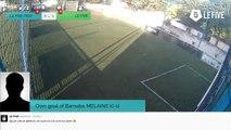 Own goal of Barnabe MELAINE (0-1)