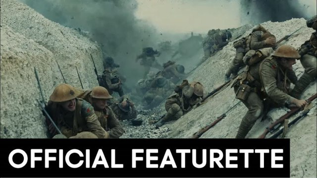 1917 Featurette - Behind The Scenes (2019)Andrew Scott, Benedict Cumberbatch War Movie HD
