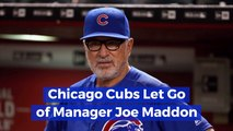 Joe Maddon Is Out With The Chicago Cubs