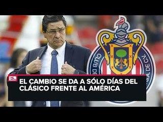 Tomás Boy se va de Chivas y llega Luis Fernando Tena