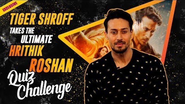 """""""I am what I am today because of Hrithik Sir"""" - Tiger Shroff 