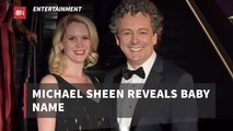 Michael Sheen Leaves The Hospital With A New Child