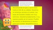 ¡El esposo de Sarita Sosa asegura que no tienen acceso al cuerpo de José José! | Ventaneando
