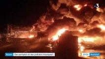 Incendie à Rouen : pompiers et policiers s'inquiètent après leur exposition aux produits