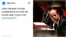 Jean-Jacques Urvoas condamné à un mois de prison avec sursis pour « violation du secret »