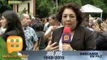 ¡El pueblo mexicano despide a José José en Clavería, coreando sus más grandes éxitos! | Ventaneando