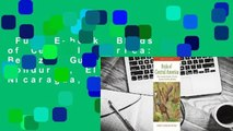 Full E-book  Birds of Central America: Belize, Guatemala, Honduras, El Salvador, Nicaragua, Costa