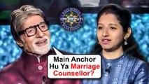 Amitabh Bachchan FUN CHAT With A Female Contestant | KBC | Sony | Bollywood Now