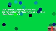 Full version  Creativity: Flow and the Psychology of Discovery and Invention  Best Sellers Rank :