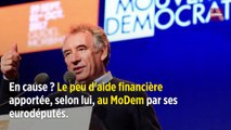 Assistants parlementaires du MoDem : le document qui fait trembler Bayrou