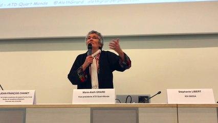 Grande pauvreté : [2/2] conférence de Marie-Aleth Grard