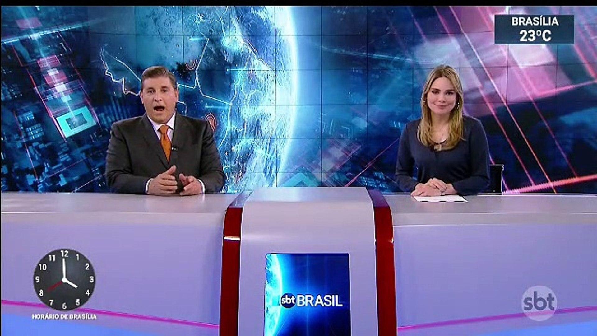 Encerramento SBT Brasil (Reprise) e inicio Primeiro Impacto (4h) com Dudu Camargo (30/08/2019) (04h0