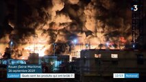 Incendie de l'usine Lubrizol à Rouen : quels sont les produits qui ont brûlé ?